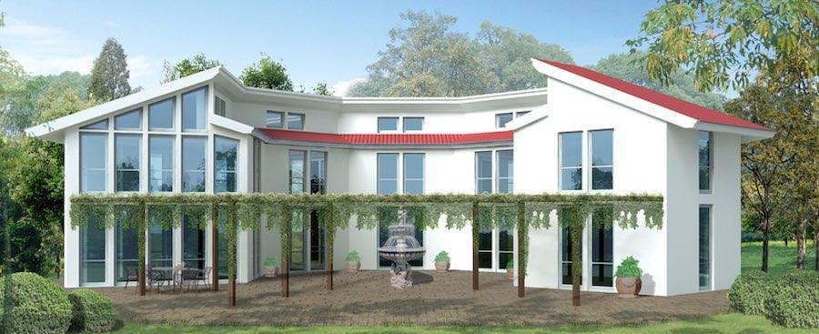 bild på nytt hus