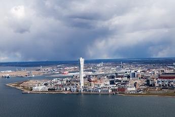 Bild på Malmö där bopriserna ökar